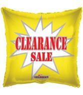 """18"""" Clearance Balloon Starburst"""