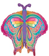 """36"""" Multicolor Butterfly"""