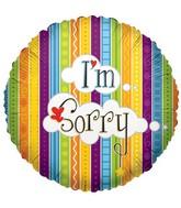 "18""  I'm Sorry Stripes"