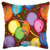"""18"""" Balloons & Confetti Party Mylar Balloon"""