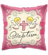 "18"" Cute Angels Baptism Girl Balloon"