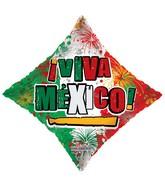 """18"""" Iviva Mexico Con Fuegos Artificiales"""