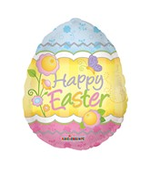 "18"" Easter Decorative Egg Balloon"