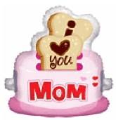 "36"" Jumbo ILY Mom Toaster Shape"