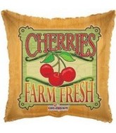 "18"" Farm Fresh Cherries Fruit Balloon"