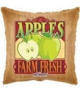 "18"" Farm Fresh Green Apple Fruit Balloon"