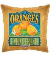 """18"""" Farm Fresh Oranges Fruit Balloon"""