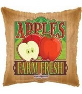"18"" Farm Fresh Red Apple Fruit Balloon"