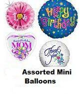 """100 Assorted 2-14"""" Airfill Balloons(Double checking Area)"""
