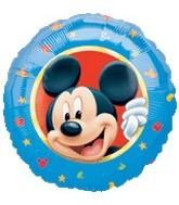 "18"" Mickey Mouse Portrait Border Balloon"