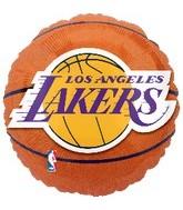 """18"""" NBA LA Lakers Basketball Balloon"""