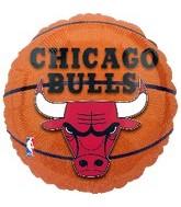 "18"" NBA Chicago Bulls Basketball Balloon"