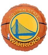 """18"""" Golden State Warriors Basketball"""