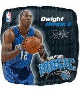 "18"" NBA Dwight Howard Basketball Balloon"