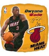 "18"" NBA Dwyane Wade Basketball Balloon"