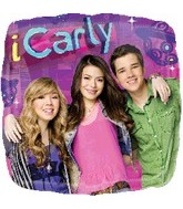 """18"""" iCarly Group Party Foil Balloon"""