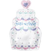 Junior Shape Personalized Wedding Cake Balloon Packaged