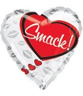 "18"" Love Smack! Balloon"