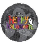 """31"""" Happy Halloween Ghost"""
