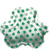 "26"" St Patricks Day Jumbo Clover Balloon"