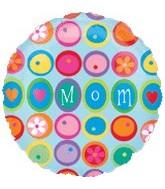 """32"""" Mom Balloon Many Flowers"""