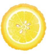 """18"""" Super Shape Fruit Lemon Mylar Balloon"""