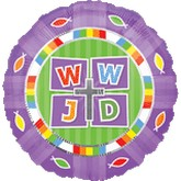 """18"""" WWJD (What Would Jesus Do) Balloon"""
