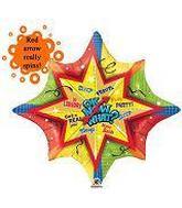 """34"""" Fabulous Graduation Spinner Balloon"""