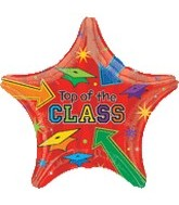 """30"""" Supershape Top of The Class Balloon"""