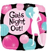 "18"" Girls Night Out Party Balloon"