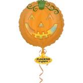 """30"""" Jack -O-Lantern Flashing Lights Balloon"""