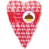 "18"" Sweetest Day Cupcake Balloon"