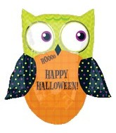 "31"" HALLOWEEN OWL Balloon"