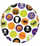 """18"""" Halloween Icons Balloon"""