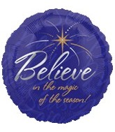 "18"" Believe in the Magic of the Season"
