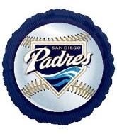 """18"""" MLB San Diego Padres Baseball"""