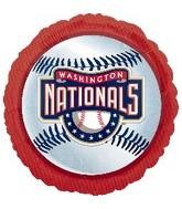 """18"""" MLB Washington Nationals Baseball"""