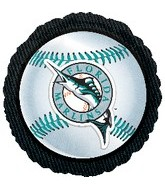 "18"" MLB Florida Marlins Baseball Balloon"
