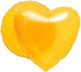 "18"" MagiColor Citrine Yellow Balloon Circle"