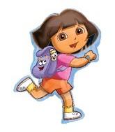 """32"""" Dora Exploring Balloon"""