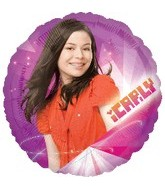 "18"" iCarly Nickelodeon Mylar Balloon"