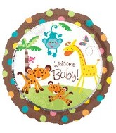 "18"" Fisher Price Welcome Baby! Balloon"