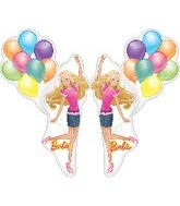 "46"" Jumbo Foil Barbie Balloon Shape"