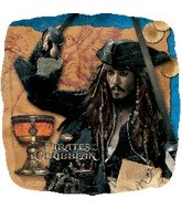 "18"" Pirates of the Carribbean 4 Movie"