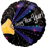 "18"" New Year Horn Balloon"