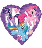 "30"" My Little Pony Heart Shape Balloon"