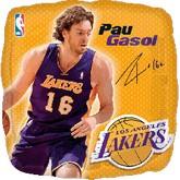 """18"""" NBA Pau Gasol Basketball Balloon"""