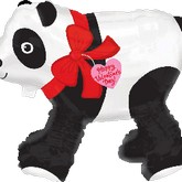 "21"" Airwalker Valentines Day Panda Bear"