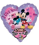 "29"" Sing-A-Tune Mickey & Minnie Love"