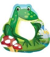 """20"""" Frog SuperShape Balloon"""